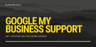 google my business phone support