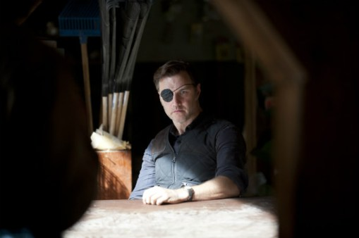 David Morrissey as The Governor on The Walking Dead