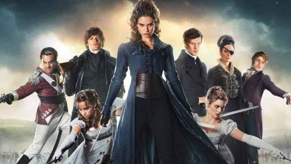 The cast of Pride and Prejudice and Zombies