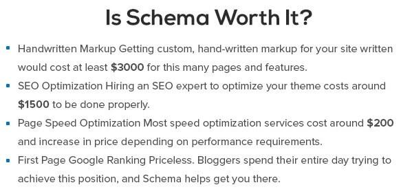 Schema worth it