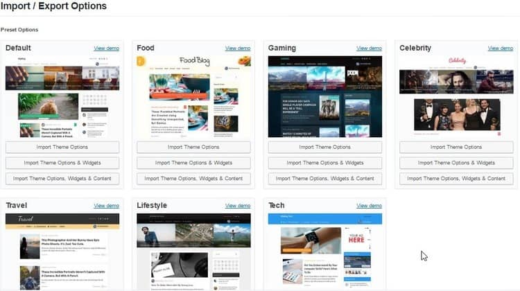 MyBlog WordPress Theme - MTS - Prelayout DEMO