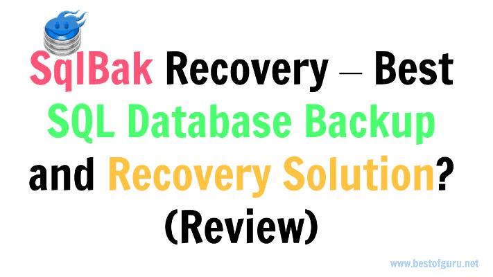 SQLBak Review
