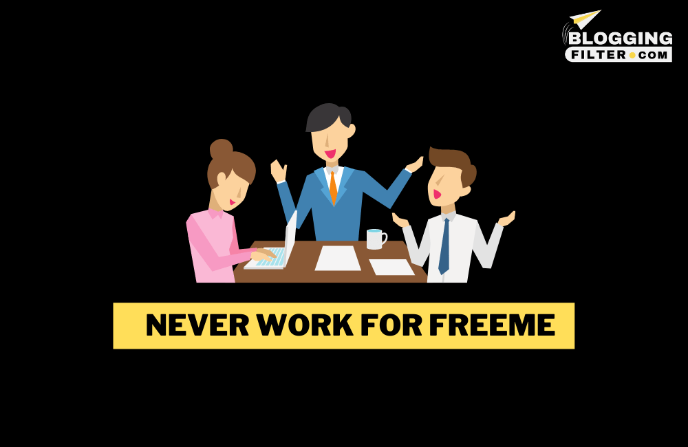 Never Work for Free via @bloggingfilter