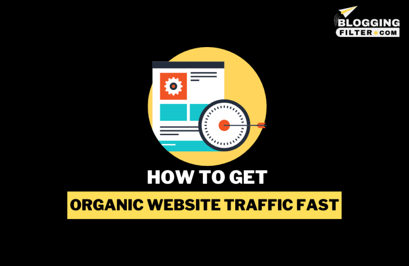 How to get organic Website traffic fast