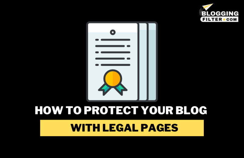 How to Protect Your Blog with Legal Pages