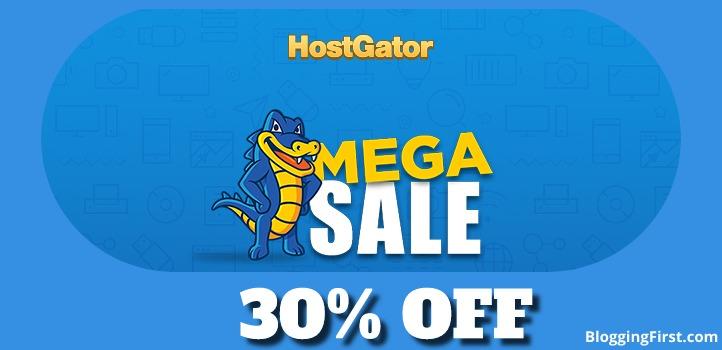 HostGator India 30% Off Hosting Discount Coupon