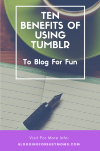 ten benefits of using tumblr