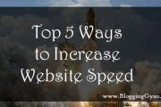 5 Ways to Increase Website Speed Hindi Mein Jankari