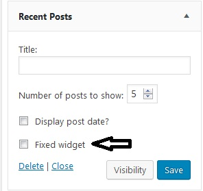 sidebar-fixed-widget
