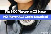 Fix MX Player AC3 Audio Format Not Supported Issue