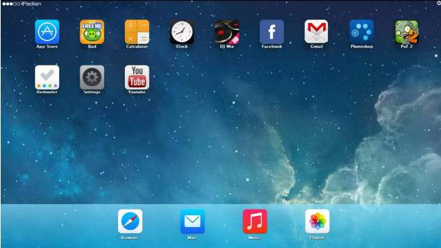 iPadian iOS Emulator For PC