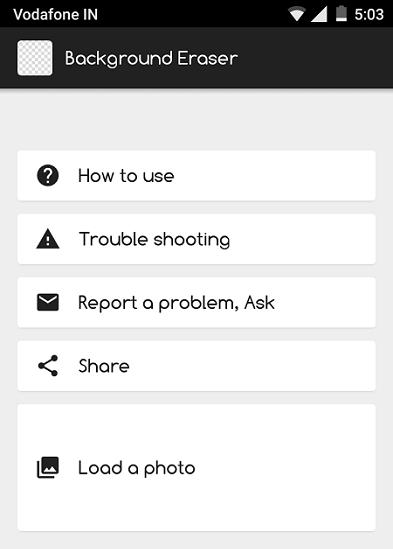 Photo Background Changer App