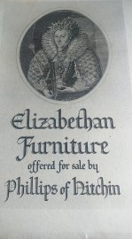Photograph of the cover of the Elizabethan Furniture catalogue