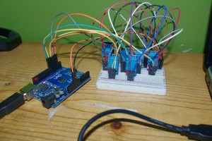 Arduino with 6 Senors...