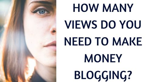 How many views do you need to make money blogging?