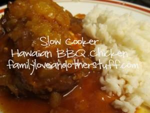 Hawaiian BBQ Chicken Pinterest Link Up