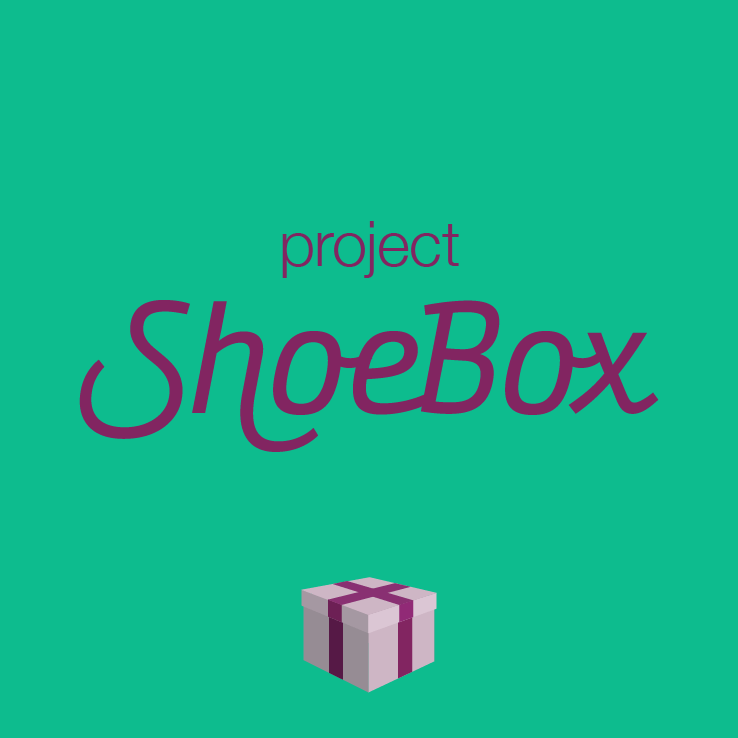 Project Shoebox | charity appeal