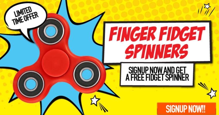 Win a fidget spinner