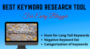 Ultimate Keyword Research Tool For Every Bloggers
