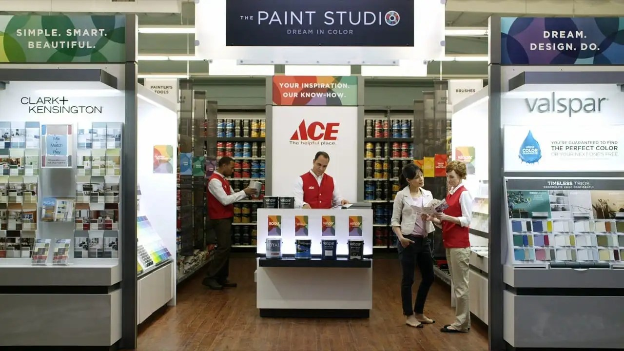 Ace Hardware And Valspar Paint Helpful Is Beautiful The