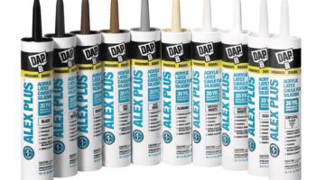 DAP ALEX PLUS All Purpose Acrylic Latex Caulk - The Blogging