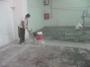 scarifying concrete for epoxy