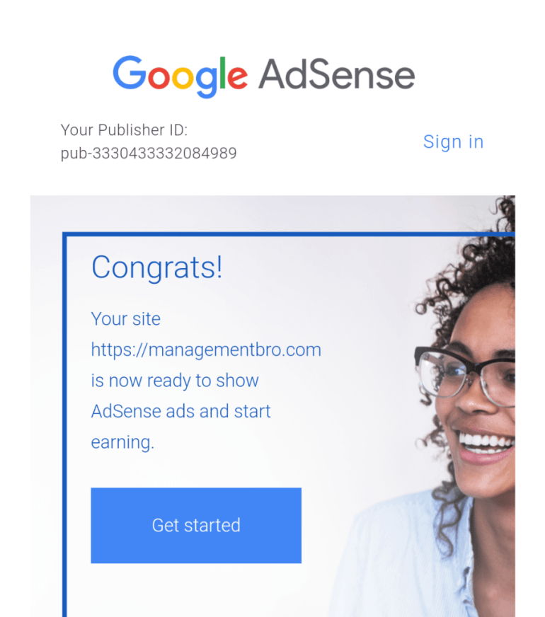 how to approve Google Adsense account with WordPress