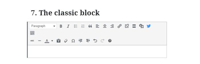 WordPress Block Editor tricks