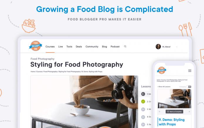 Food Blogger Pro membership