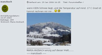 Forum Maria Anzbach