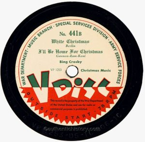 crosbyv disc 300x294 - Song of the Day: I'll Be Home For Christmas