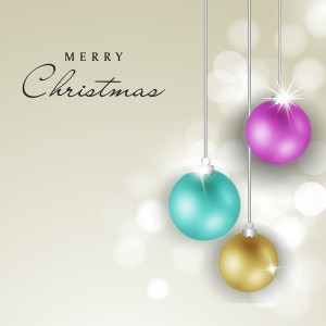 Merry Christmas greeting