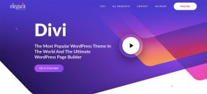 Divi - Elegant Themes Review