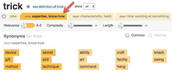 17 thesaurus 2