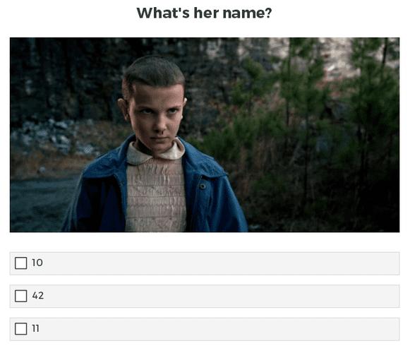 WP Viral Quiz Demo Example