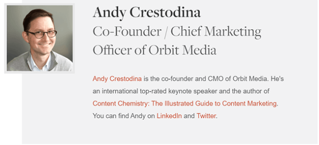 Andy Crestodina Author Bio