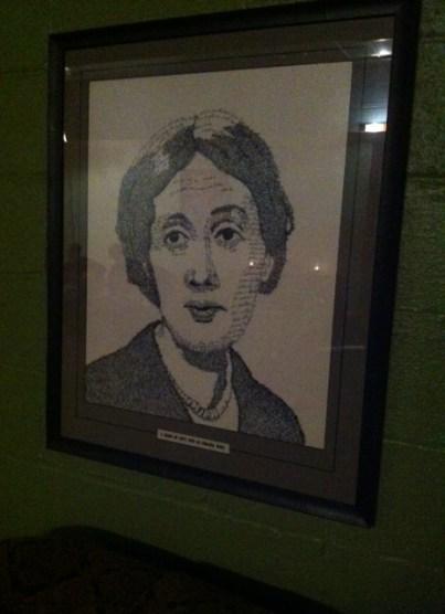 Virginia Woolf in words