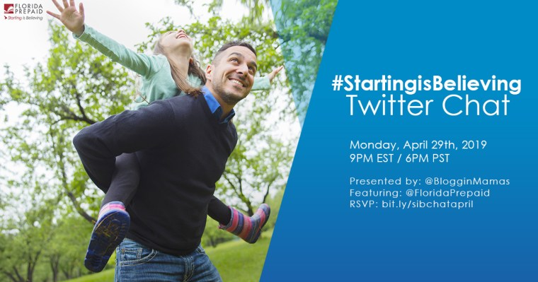 #StartingIsBelieving Twitter Party 4-29-19