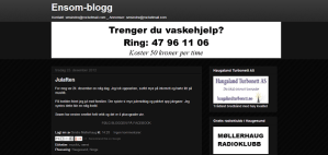 sindres blogg