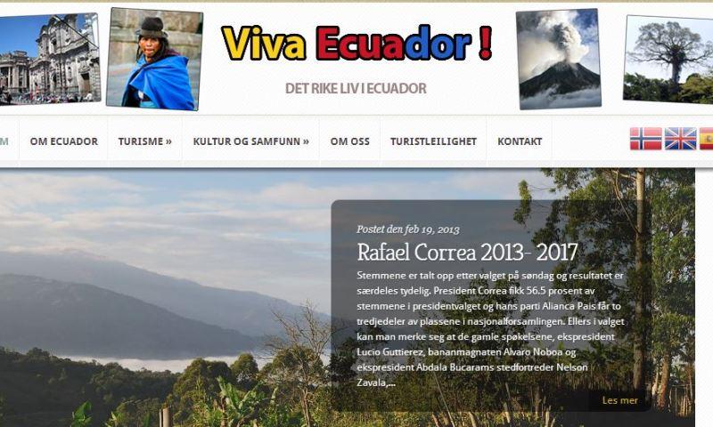 Viva Equador!