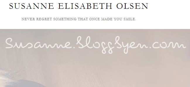 SUSANNE ELISABETH OLSEN