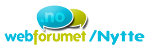 Webforumet.nytte