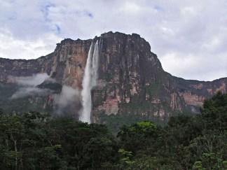 Panoramic shot of Angel Falls