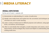 Grade 1 - Media Literacy - Overall Expectations