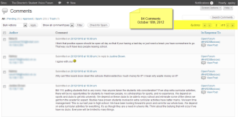Comments - October 18th, 2012