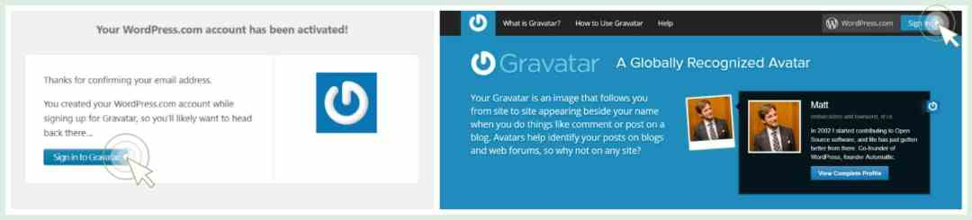 Profilbillede i kommentarer gravatar guide wordpress gravatar account sign in