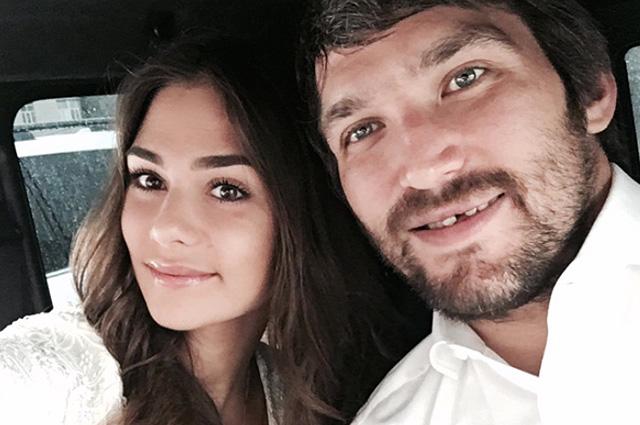 Александр Овечкин и Анастасия Шубская сыграли свадьбу спустя год после заключения брака: фото