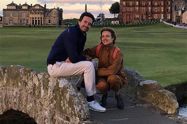 Наталья Водянова отдыхает в Италии с Антуаном Арно