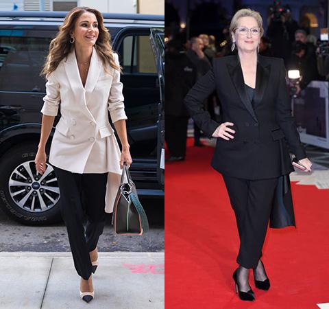 Модная битва: королева Иордании Рания против Мерил Стрип