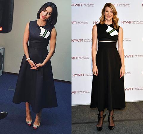Модная битва: Тина Канделаки против Лоры Дерн